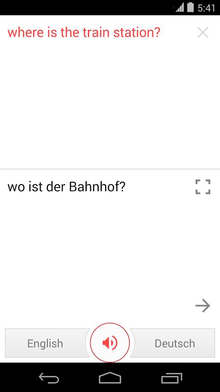 Google Tradutor screenshot 2