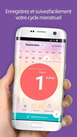 Salendrier Des Regles Flo Calendrier Menstruel 4 30 0