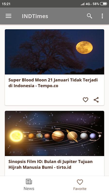 INDTimes screenshot 2