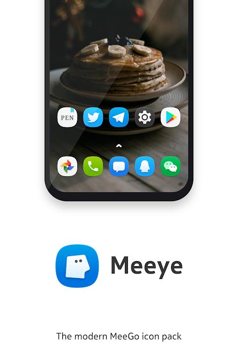 Meeye Icon Pack - Modern MeeGo Style Icons screenshot 2