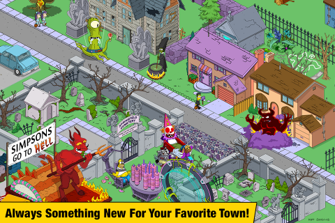 The Simpsons™: Tapped Out screenshot 5