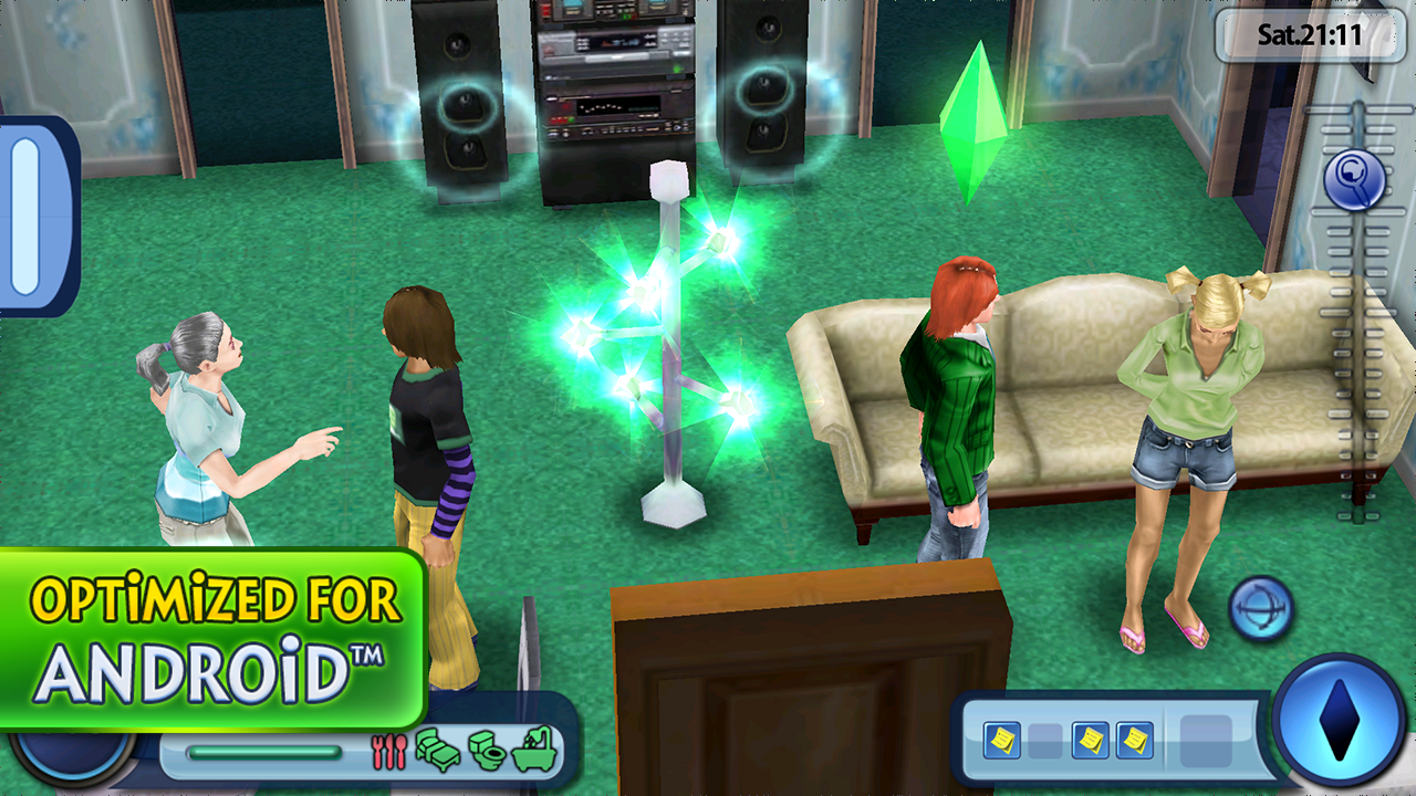 Sims games for android