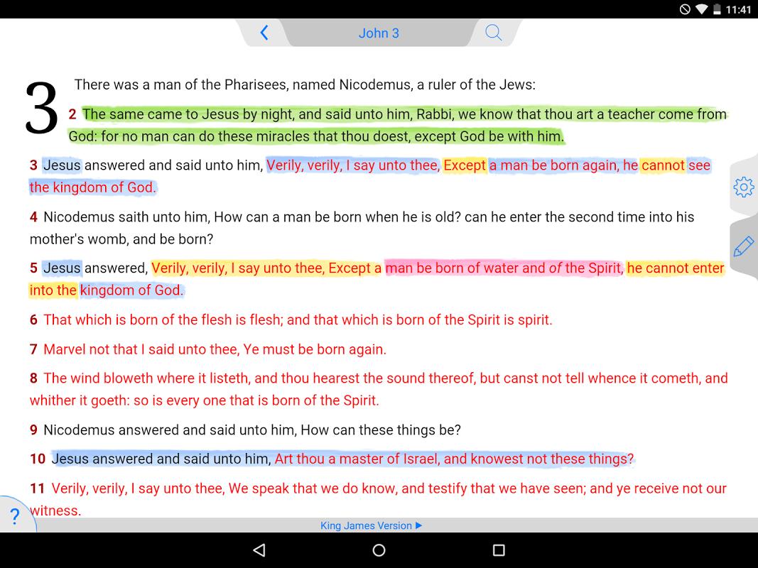Amplified Bible Classic Edition screenshot 1