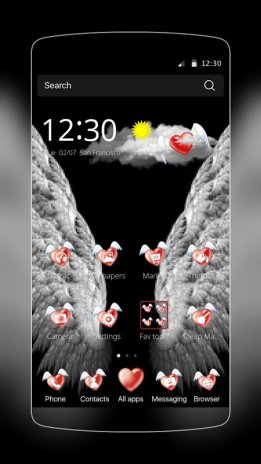 Love Angel Wings Theme 1 0 0 Download APK for Android - Aptoide