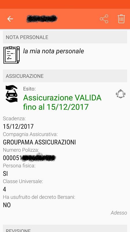 Scanner Veicoli screenshot 4