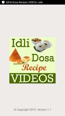 Idli dosa recipes videos 11 download apk for android aptoide idli dosa recipes videos screenshot 1 forumfinder Images