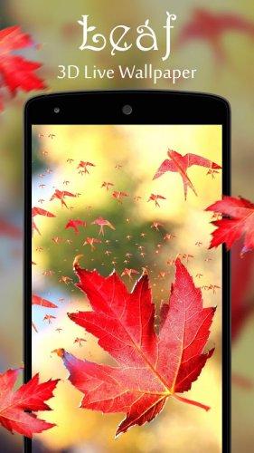 Leaf 3d Live Wallpaper 1 0 8 Download Android Apk Aptoide