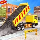 US Town Road Construction & Builder Game