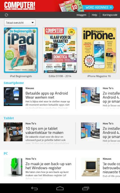 Computer!Totaal Magazine | Download APK for Android - Aptoide Computer Totaal