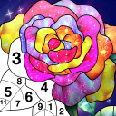 Color by Number New Coloring Book