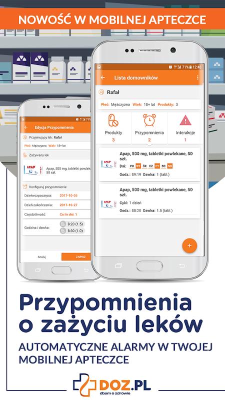 DOZ.pl - wszystko o lekach screenshot 1