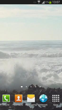 Big Ocean Waves Live Wallpaper 2