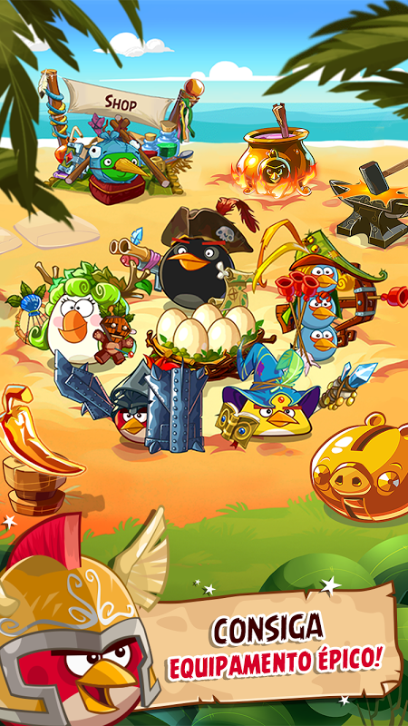 Angry Birds Epic RPG screenshot 1