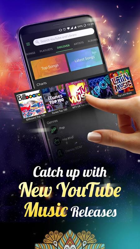 Lark Player —— YouTube Music & Free MP3 Top Player screenshot 1