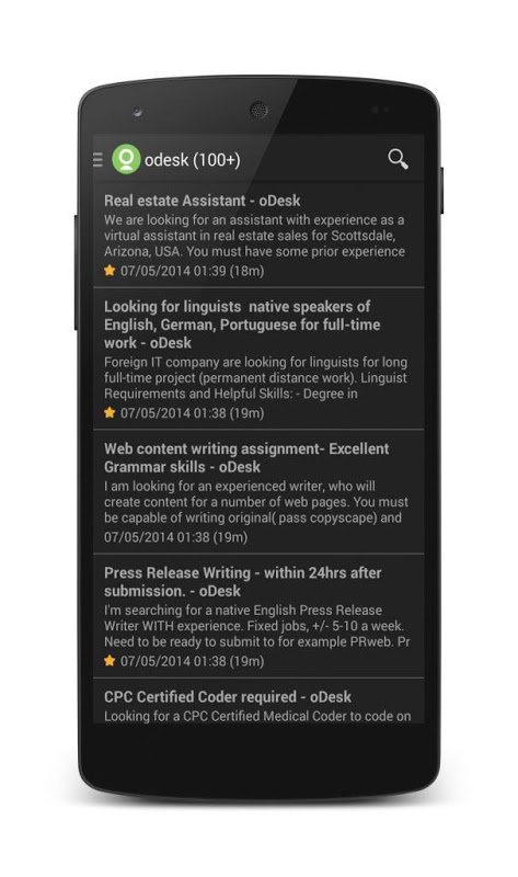 Freelance Projects screenshot 2