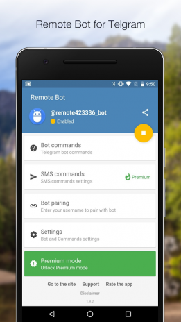 Remote Bot for Telegram 1 9 39 Download APK for Android - Aptoide