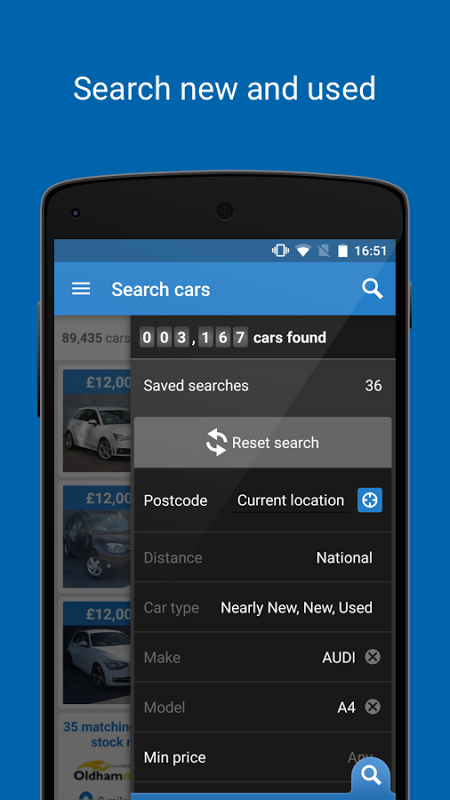 Auto Trader - Buy, sell and value new & used cars screenshot 1