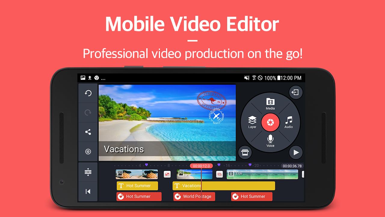 KineMaster – Pro Video Editor screenshot 1