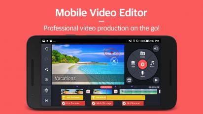 kinemaster pro video editor screenshot 1