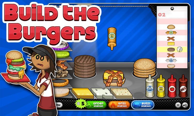 Jeux de papa louie hamburger - Jeux de cuisine papa louie pancakeria ...