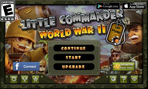 Little Commander - WWII TD screenshot 5