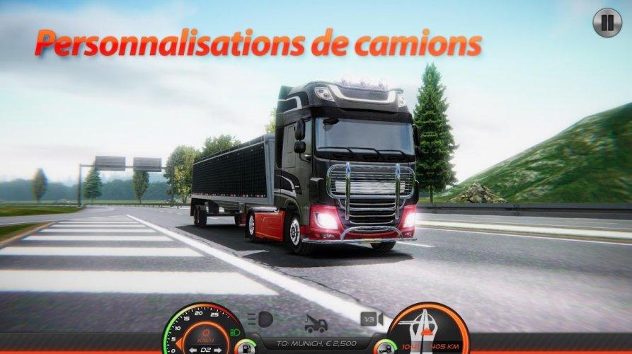 Simulateur de Camion : Europe 2 screenshot 6