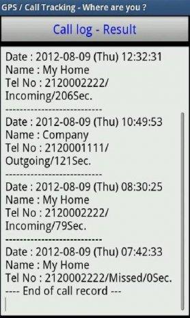 GPS/Call Tracker PRO-5 Tracker3 8 tải APK dành cho Android