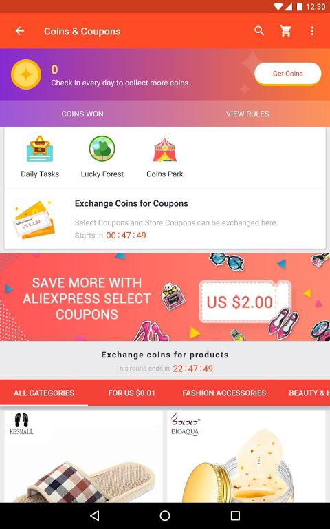 AliExpress Shopping App- $100 Coupons For New User screenshot 6