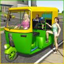 Tuk Tuk Rickshaw City Driving Simulator 2021