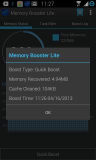 Memory Booster (Full Version) screenshot 7