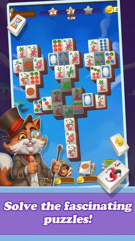 Mahjong Magic Islands screenshot 2