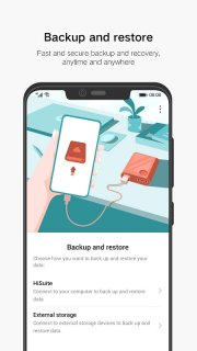 Huawei Backup screenshot 1