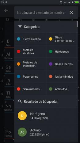 Tabla peridica 2018 0161 descargar apk para android aptoide tabla periodica 2018 captura de pantalla 12 urtaz Gallery
