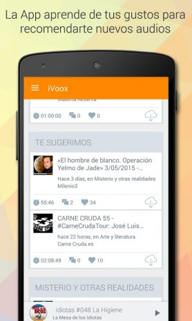 Podcast & Radio iVoox 2.243 Descargar APK para Android - Aptoide