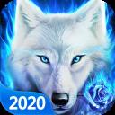 White Wolf Live Wallpaper