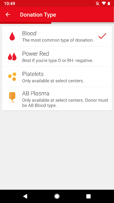Blood Donor screenshot 1