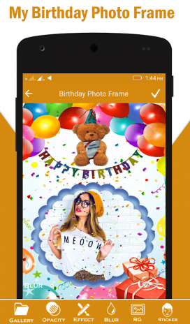 Happy Birthday Card Photo Frame 114 Download Apk For Android Aptoide