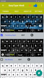 Easy Typing Hindi Keyboard screenshot 5