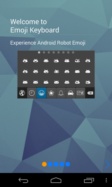 how to get emoji keyboard on android phone