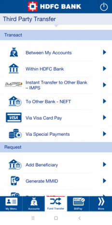 HDFC Bank Mobile App 8 4 Download APK for Android - Aptoide