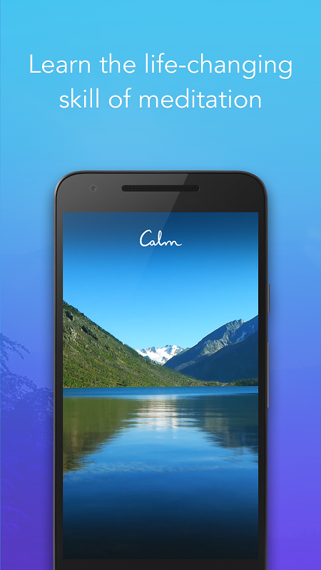 Calm - Meditate, Sleep, Relax screenshot 1
