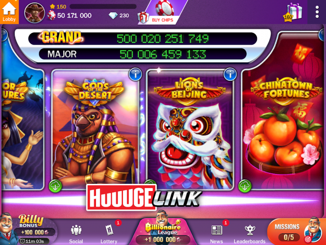 Billionaire Casino Slots The Best Slot Machines 5 6 2200