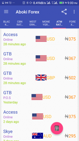 Aboki Forex Screenshot 3