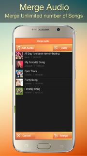 Audio MP3 Cutter Mix Converter screenshot 4