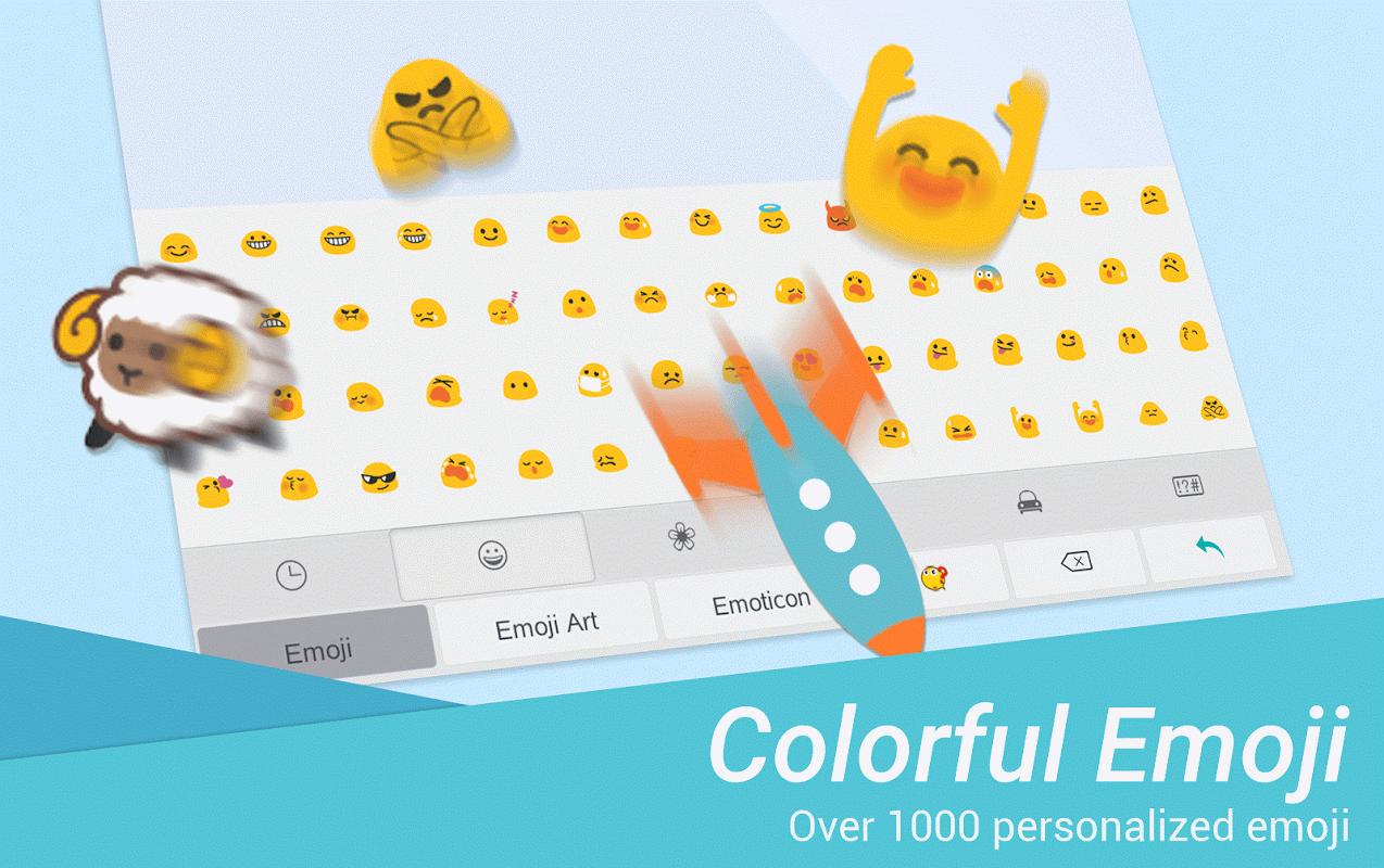 TouchPal Emoji Keyboard screenshot 2