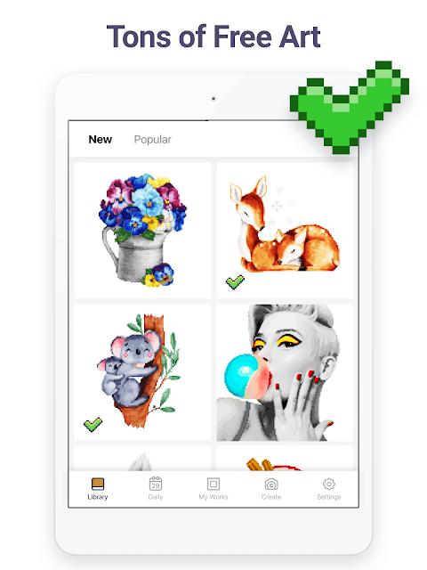 Pixel Art: Colour by Number screenshot 14