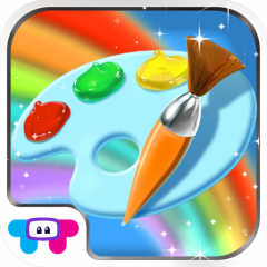 Icono De Paint Sparkles Coloring Book