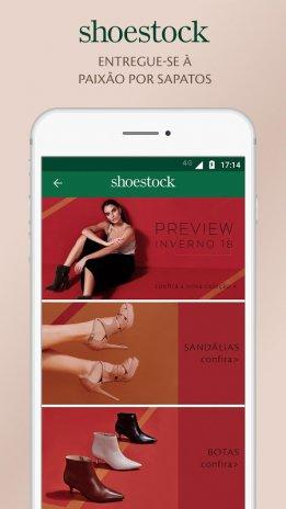 79730d51f0 shoestock sandalias sapatilhas e sapatos online captura de tela 1 ...
