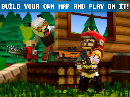 Mad GunZ FPS online shooter, crafting and building screenshot 4