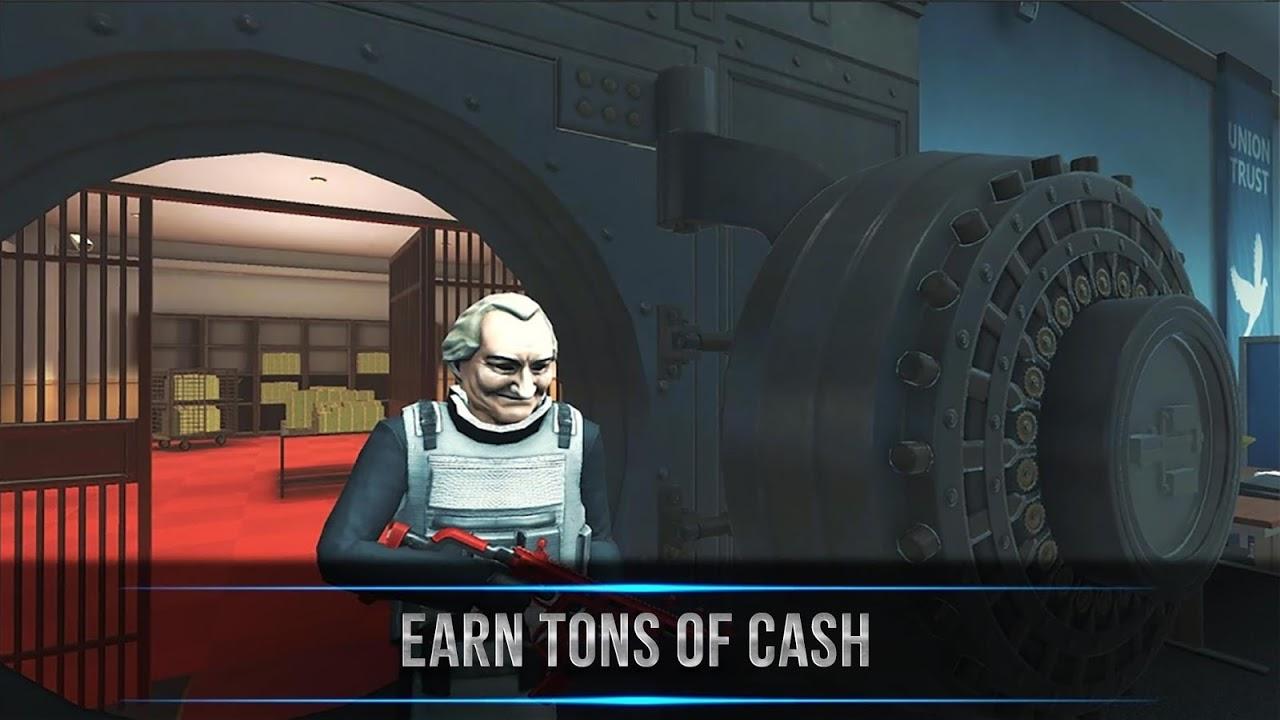 Armed Heist shooting games: TPS 3D Sniper gun game screenshot 2
